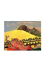 Legendarte Lienzo La Montagna Sacra di Paul Gauguin