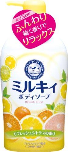 ミルキィ BS Rシトラスの香りP付 580ml