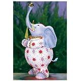 Patience Brewster Eleanor Elephant Ornament 08-30909