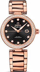 NEW OMEGA DeVILLE LADYMATIC LADIES WATCH 425.65.34.20.51.001
