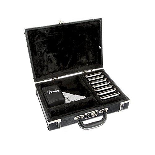 harmonicas fender harmonica diatonique midnight special pack de 7 avec malette de rangement en. Black Bedroom Furniture Sets. Home Design Ideas