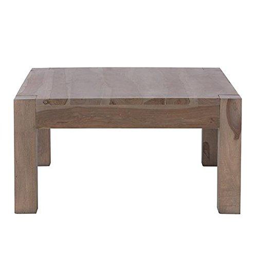 "Edmund Square Coffee Table, 17""Hx40""Wx40""D, SMOKE GRAY"