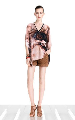 Ombre Animal Print Kaftan