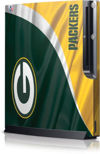 NFL - Green Bay Packers - Green Bay Packers - Sony Playstation 3 / PS3 Slim (4th Gen)(160/250GB) - Skinit Skin by Skinit