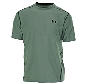 Under Armour Men's HeatGear® Fitted Short Sleeve Crew