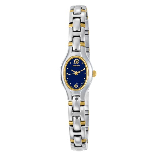 Seiko Women's SXGJ73 Dress Two-Tone Watch
