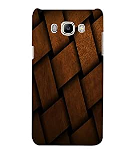 LEATHER PATTERN Designer Back Case Cover for Samsung Galaxy J7::Samsung Galaxy J7 J700F