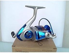 HAI BIN AC7000 Silver Reel Blue Decoration Metal Spool Spinning Reel