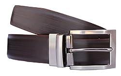 Discover Fashion Men's Leather Brown Belt (BL-AZ-11)