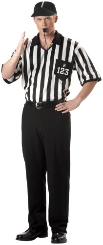California Costumes Men's Adult-Referee Shirt Costume