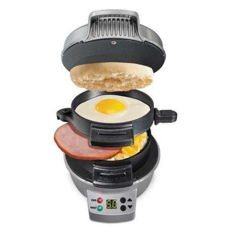 Hamilton Beach Breakfast Sandwich Maker with Count Down Timer (Waffle Maker Hello Kitty compare prices)