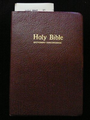 Image for Holy Bible With Dictionary and Concordance