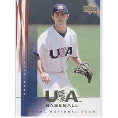 Buy 2002 USA Baseball National Team # 17 Dustin Pedroia - Boston Red Sox Baseball Card - In Protective... by MLB