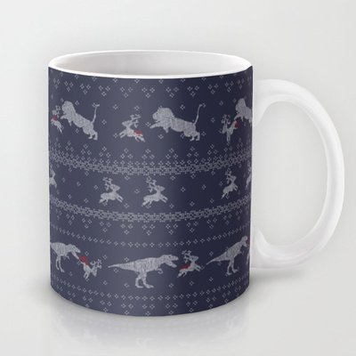 Society6 - Ugly Sweater Coffee Mug By Sarinya Withaya