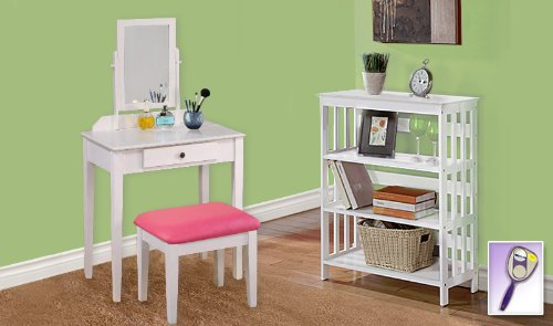 Pink Dressing Table front-669779