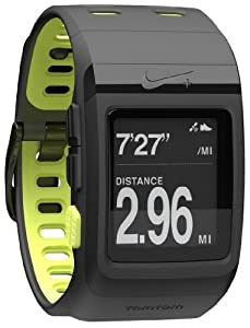 Nike+ Sportwatch Gps Powered By Tomtom Black/volt