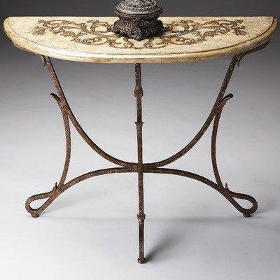 Cheap Metalworks Demilune Console Table in Distressed Bronze (B003XKSILC)