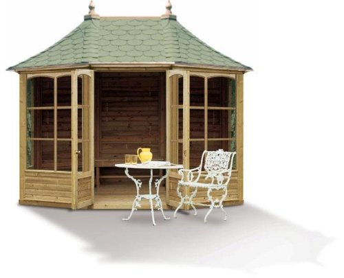 Harrogate Hexagonal Wooden Summerhouse (Large)