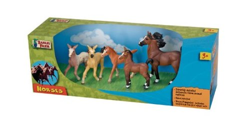 Safari Toys Horse Set - 1