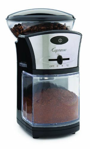 Capresso Coffee Burr Grinder back-620793