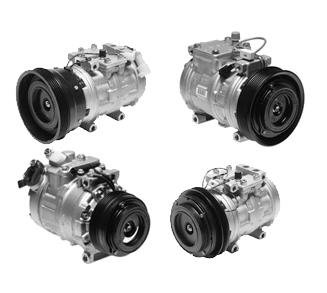 Denso 471-1228 New Compressor with Clutch