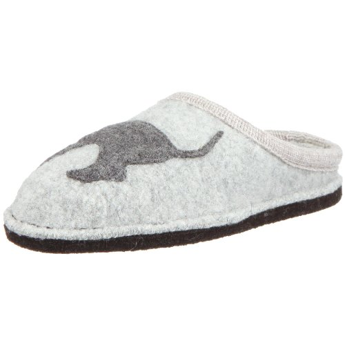Cheap Haflinger Women's Doggy Applique Slipper (B001C173PQ)