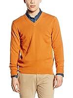 Piacenza cashmere Jersey (Naranja)