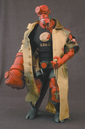 Buy Low Price Mezco Hellboy Comic Battle Damaged 18-inch Figure Previews Exclusive (B000CA0BD4)