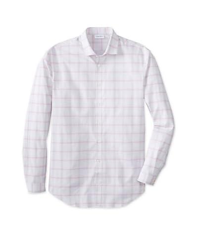 Calvin Klein Men's Slim Fit X Spread Collar Dress Shirt