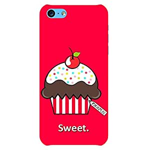 Generic Red Cupcake iPhone 5c Back Phone Case