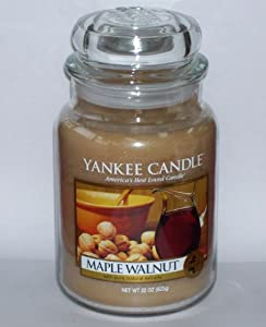 Yankee Candle Maple Walnut 22 oz Jar Candle