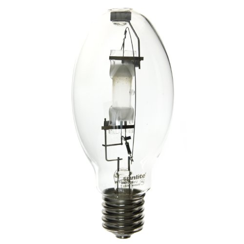 Sunlite MH250/U/MOG 250-Watt Metal Halide ED28 Bulb, Mogul Base, Clear