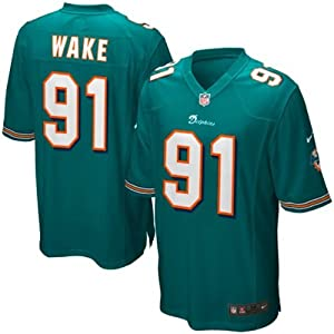 Cameron Wake Miami Dolphins NFL Youth Size Jersey Aqua by OuterStuff