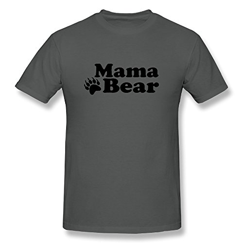 Sunflower Men Tee Particular Mama Bear With Paws Mixed DeepHeather SizeM (Smokey The Bear Costume)