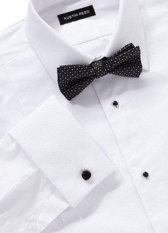 Austin Reed Classic Fit Cutaway Collar Dress Shirt REGULAR MENS 15