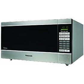 Panasonic NN-SN760S 1250-Watt 1-3/5-Cubic-Foot Microwave Oven