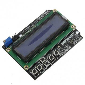 Bheema Keypad Shield Blue Backlight For Arduino Robot Lcd 1602 Board