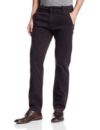 Levi's Men's Chino Twill Pant, Black, 28Wx30L