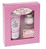 Wild Flower Wild Rose by Cath Kidston Gift boxed Set of Hand Cream, Hand Balm & Soap