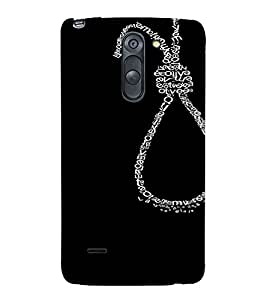 PrintVisa Waste of Life Design 3D Hard Polycarbonate Designer Back Case Cover for LG G3 STYLUS