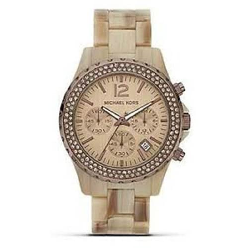 Amazon.com: Michael Kors MK5648 Dark Horn Bracelet Ladies Watch