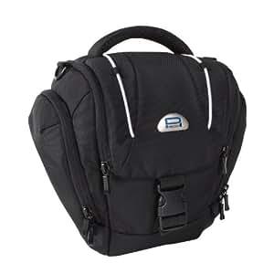 Pedea Tasche für Canon EOS 1200D, Nikon D5100, D3100, Olympus E-M1 OM-D, Sony Alpha 99 (Platz für Body und Objektiv, mit Tragegurt und Zubehörfach)