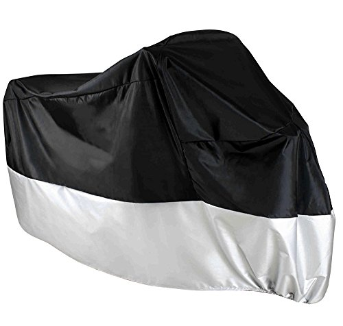 TMS XLarge Black All Weather Dust Storage Cover for Motorcycle (Motorcycle Cover All Weather compare prices)