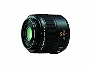 Panasonic Leica DG Macro-Elmarit 45mm/F2.8 ASPH Lens with MEGA OIS for Micro Four Thirds Interchangeable Lens Cameras