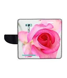 KolorEdge Printed Flip Cover For Asus Zenfone Selfie ZD551KL Multicolor -(1479-55KeMLogo09229ZenSelfie)