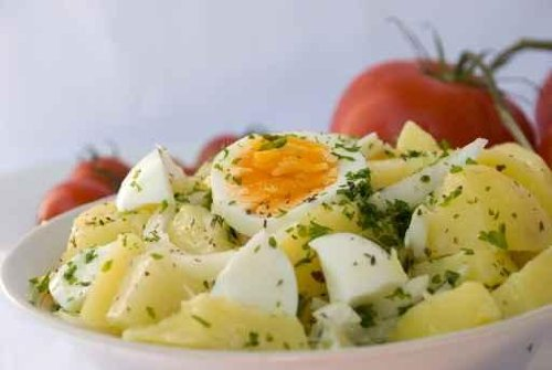 Potato Salad with Boiled Egg,spices 3 - 42