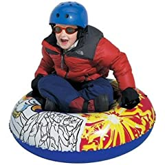 Buy Inflatable Yeti 37 Inch Round Snow Tube by brandsonSale