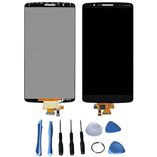 Lcd Display Touch Screen Digitizer Assembly For Lg Optimus G3 D855 D851 Vs985 D850 Ls990 With Free Tools (Verizon Black)