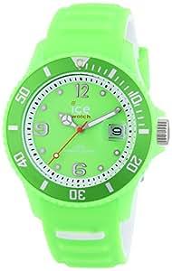 Ice-Watch Women's Quartz Watch Ice Sunshine Neon Green SUN.NGN.S.S.14 with Plastic Strap