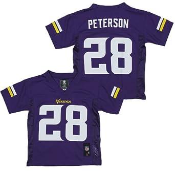 NFL Minnesota Vikings Adrian Peterson #28 Boys Performance Fashion Tee by NFL